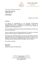 Referenz Rechtsanwalt Streichert